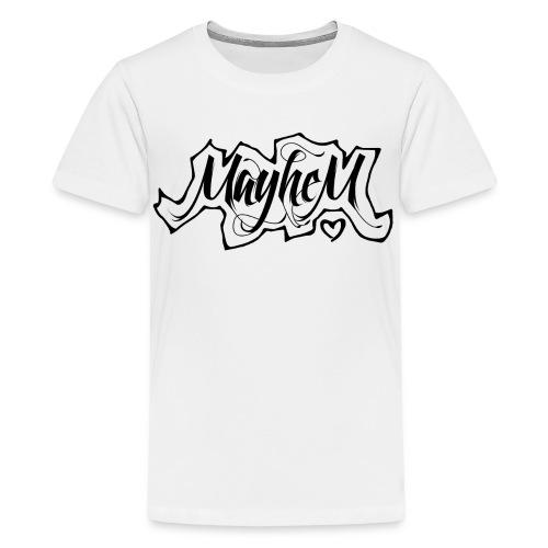 MayheM7 Logo-6 Black - Kids' Premium T-Shirt