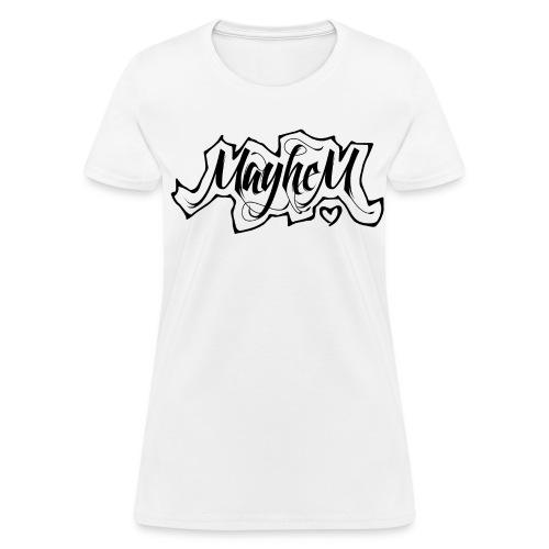 MayheM7 Logo-6 Black - Women's T-Shirt