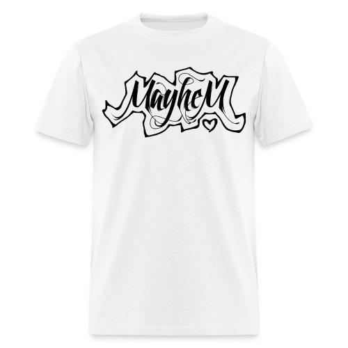 MayheM7 Logo-6 Black - Men's T-Shirt