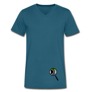 Sleuth Admirer's  - Men's V-Neck T-Shirt by Canvas