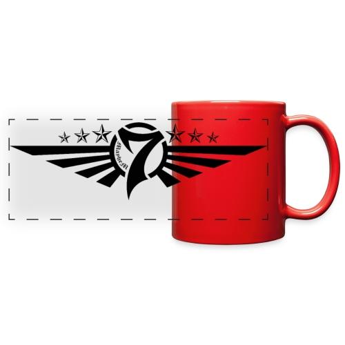 MayheM7 Logo-5 Black - Full Color Panoramic Mug