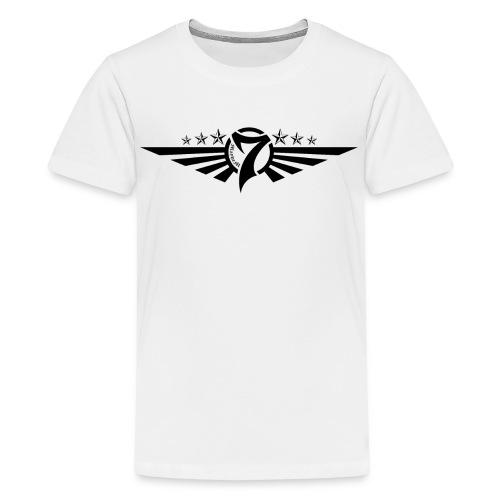 MayheM7 Logo-5 Black - Kids' Premium T-Shirt