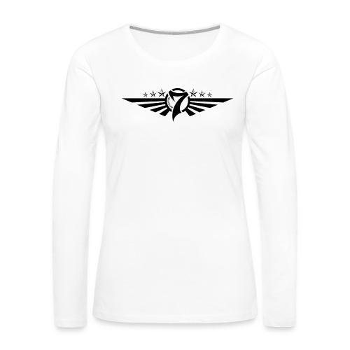 MayheM7 Logo-5 Black - Women's Premium Long Sleeve T-Shirt