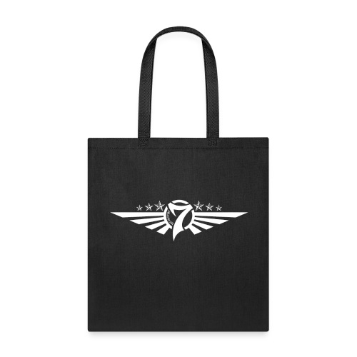 MayheM7 Logo-5 White - Tote Bag