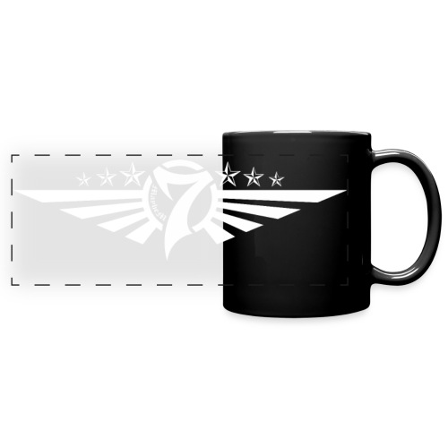 MayheM7 Logo-5 White - Full Color Panoramic Mug