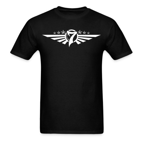 MayheM7 Logo-5 White - Men's T-Shirt