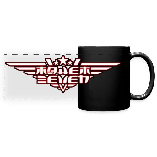 MayheM7 Logo-4 White glow - Full Color Panoramic Mug