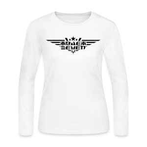 MayheM7 Logo-4 Black - Women's Long Sleeve Jersey T-Shirt