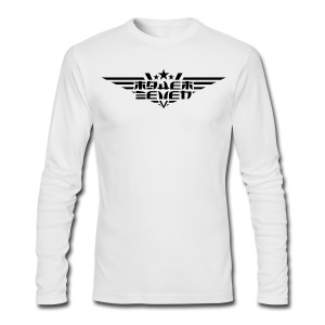 MayheM7 Logo-4 Black - Men's Long Sleeve T-Shirt by Next Level
