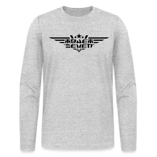 MayheM7 Logo-4 Black - Men's Long Sleeve T-Shirt by Next Level