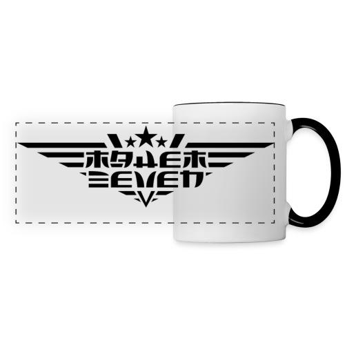 MayheM7 Logo-4 Black - Panoramic Mug