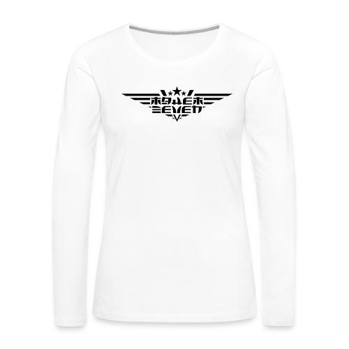 MayheM7 Logo-4 Black - Women's Premium Long Sleeve T-Shirt
