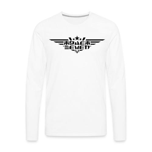 MayheM7 Logo-4 Black - Men's Premium Long Sleeve T-Shirt