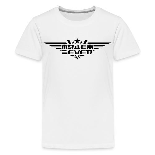 MayheM7 Logo-4 Black - Kids' Premium T-Shirt