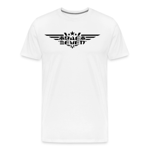 MayheM7 Logo-4 Black - Men's Premium T-Shirt