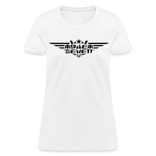 MayheM7 Logo-4 Black - Women's T-Shirt