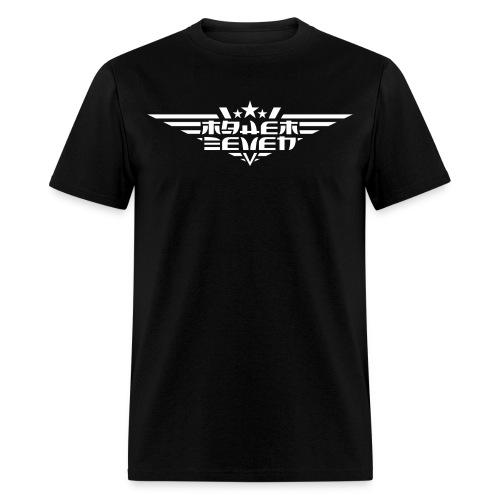 MayheM7 Logo-4 White - Men's T-Shirt