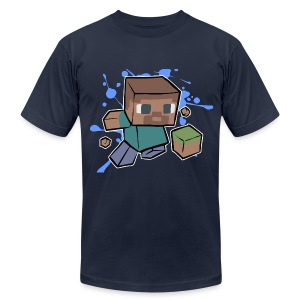 Minecraft Creeper - Men's T-Shirt by American Apparel