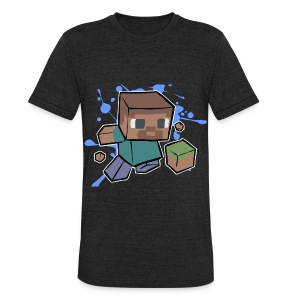 Minecraft Creeper - Unisex Tri-Blend T-Shirt by American Apparel