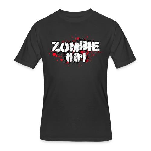 Zombie 001 - Men's 50/50 T-Shirt