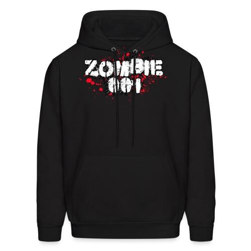 Zombie 001 - Men's Hoodie