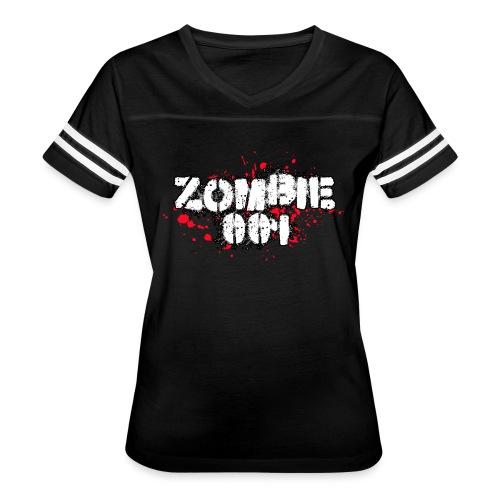 Zombie 001 - Women's Vintage Sport T-Shirt