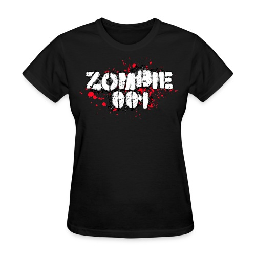 Zombie 001 - Women's T-Shirt