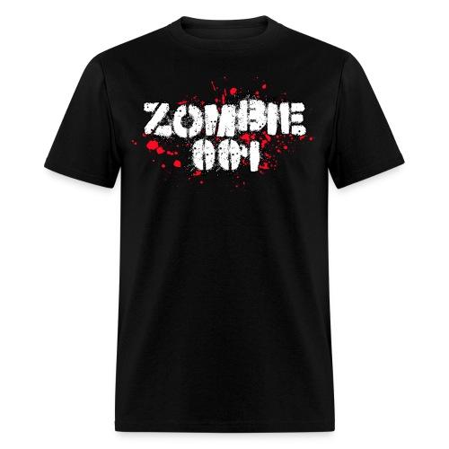 Zombie 001 - Men's T-Shirt