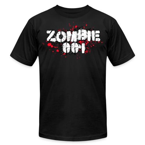 Zombie 001 - Men's Fine Jersey T-Shirt