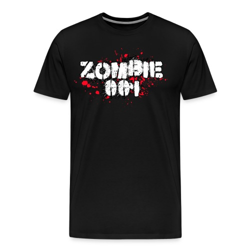 Zombie 001 - Men's Premium T-Shirt