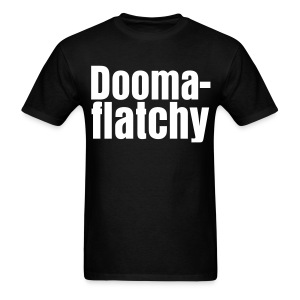 Doomaflatchy (Men's - Black) - Men's T-Shirt