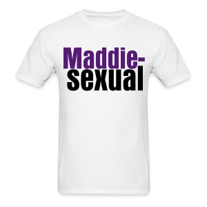 Maddie-sexual (Men's - White) - Men's T-Shirt