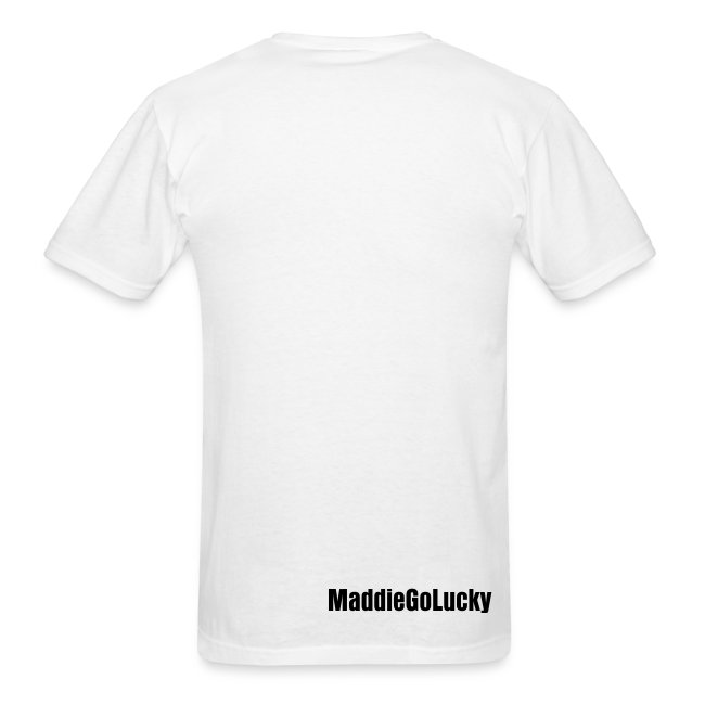 I'm a Lucky One (Men's - White)