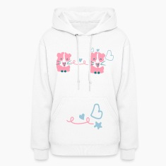 Cute Guinea pigs Women's Hooded sweatshirt