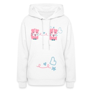 Cute Guinea pigs Women's Hooded sweatshirt - Women's Hoodie
