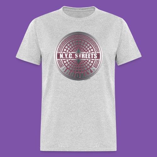 Manhole Covers Brooklyn PinkManhole Covers Brooklyn Pink Shirt - Men's T-Shirt
