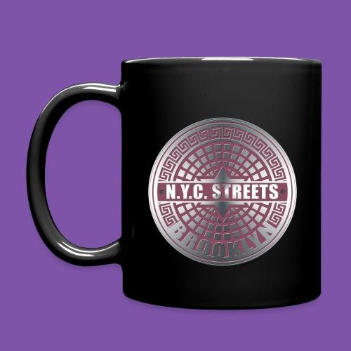 Manhole Covers Brooklyn Pink Mug - Full Color Mug