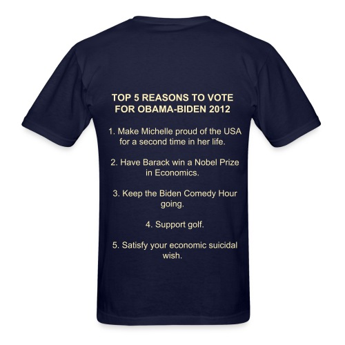 Think before you vote - Men's T-Shirt