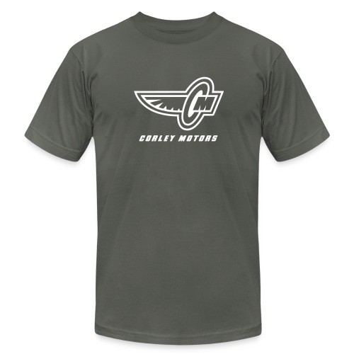 Corley Motors - Asphalt - Men's Fine Jersey T-Shirt