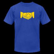 T-Shirts ~ Men's T-Shirt by American Apparel ~ Handshake Bowl