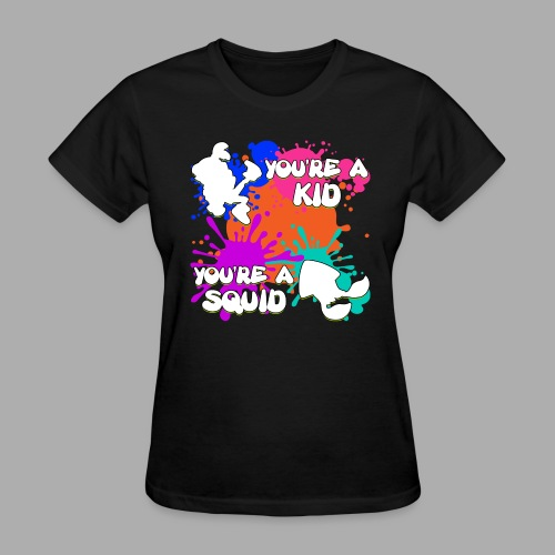 Kid Squid (Women) - Women's T-Shirt