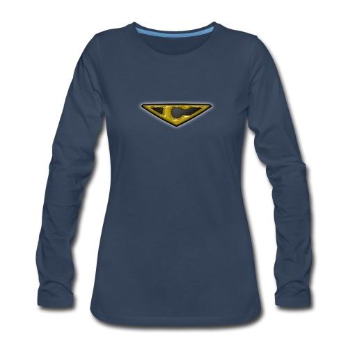 OZORA CRASH LONG SLEEVE WOMAN - Women's Premium Long Sleeve T-Shirt