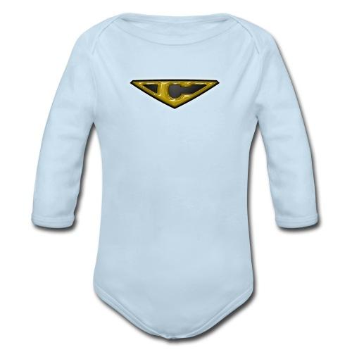 OZORA CRASH LONG SLEEVE BABY - Organic Long Sleeve Baby Bodysuit
