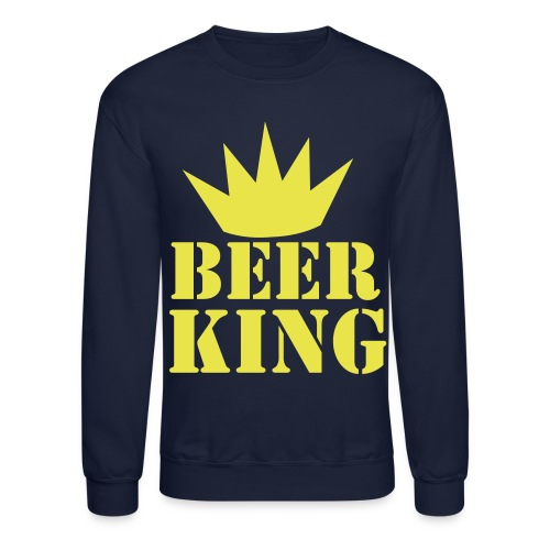 Beer king - Crewneck Sweatshirt