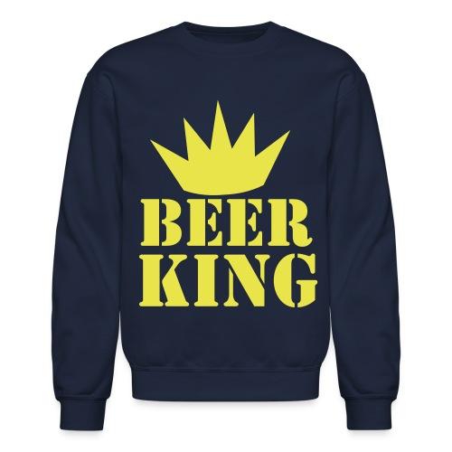 Beer king - Crewneck Sweatshirt