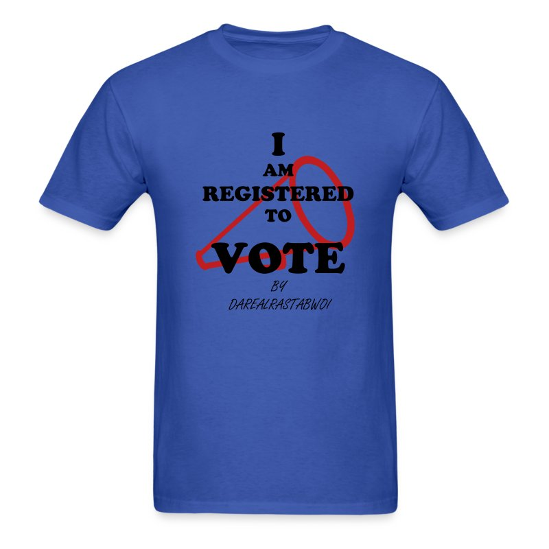 Registered Voter - Men's T-Shirt