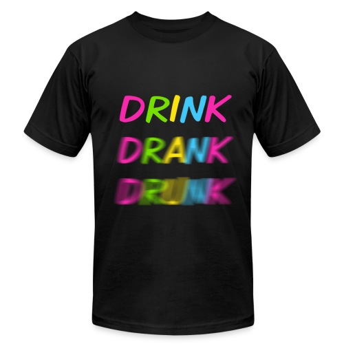 Drink-drank-drunk - Men's  Jersey T-Shirt