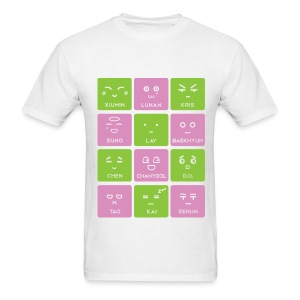 EXO Emoticons [Men's Shirt] - Men's T-Shirt