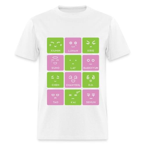 EXO Emoticons [Men's Shirt] - Men's T-Shirt