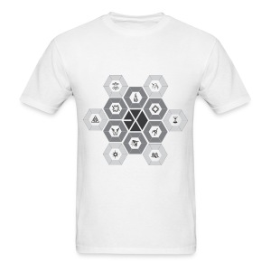 EXO - Hexagon Power [Men's Shirt] - Men's T-Shirt